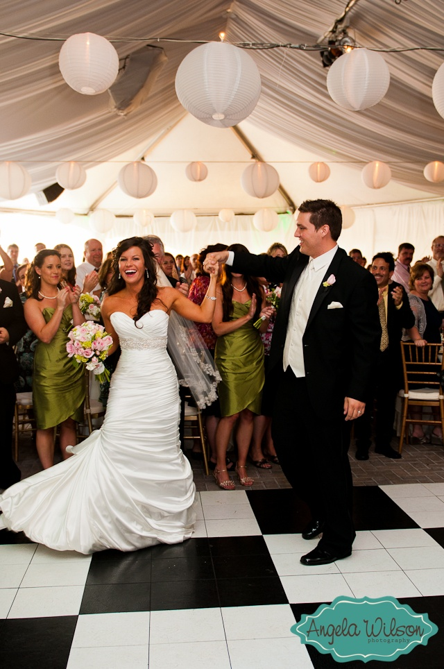 Angela Wilson Photography: First Dance underneath the Tent