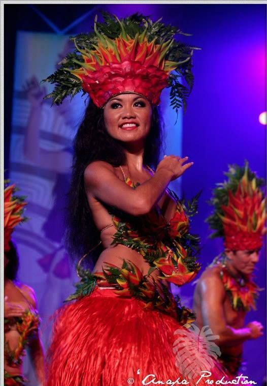 Tahitian dance (\u0027ori Tahiti).