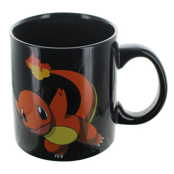 Pokemon Charmander Evolution Heat Change Mug, Multi-Colored