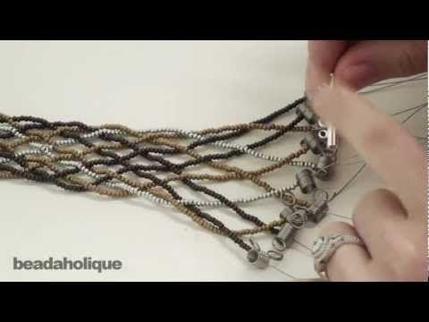 How to Do a Loose 10 Strand Braid and Make a Bracelet