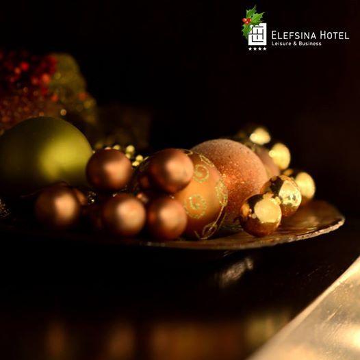 Christmas decoration @ Elefsina Hotel