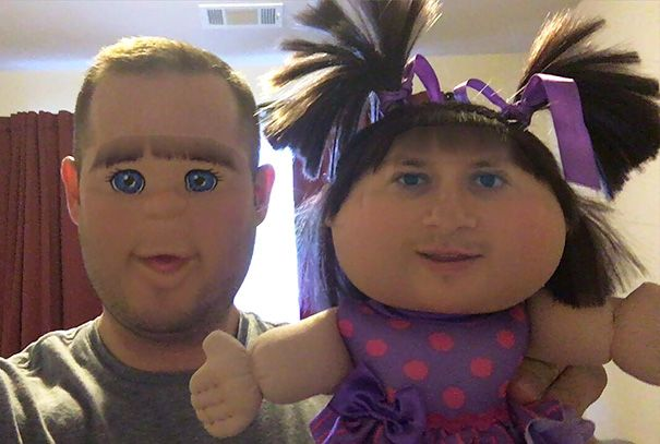 15+ Funniest Face Swaps From The Most Terrifying Snapchat Update ...