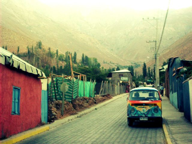 Pisco, Valle del Elqui Chile