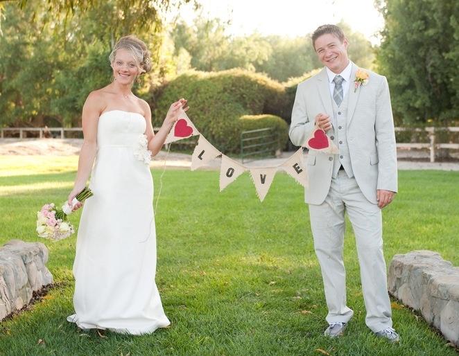 Pink DIY Backyard Wedding {from ByCherry Photography}