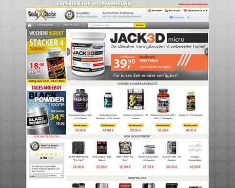 http://www.bodychoice.de | Bodybuilding Shop und Tribulus und tolle Creatin Produkte - Im Bodychoice Bodybuilding Shop finden Sie eine große Auswahl an Tribulus und Kre-Alkalyn. Über 1000 Produkte für Bodybuilding und Muskelaufbau
