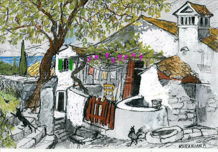 Corfu Exteriors as observed by Theresa Nicholas