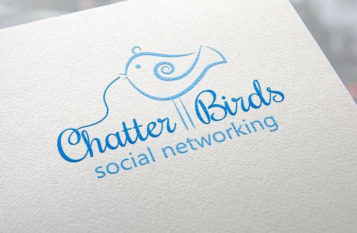 Blue bird logo. #logo #logodesign #creativelogodesign #birdlogo #bluebirdlogo