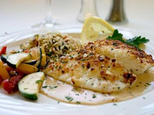 Filets de poisson sauce citron (micro-ondes)