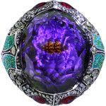 Sevan Bicakci Carved Waterlily Ring