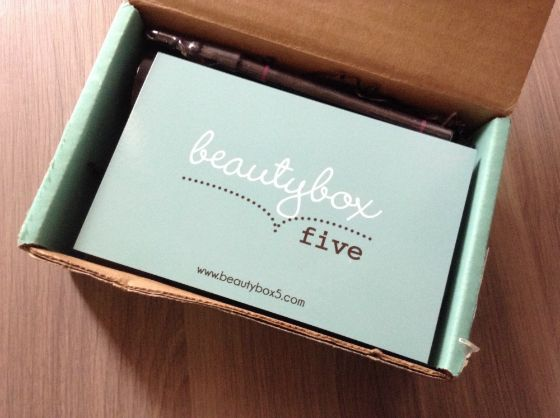 Beauty Box 5 Review - Monthly Makeup Subscription Boxes - May 2013 #beautybox5 #subscriptionbox