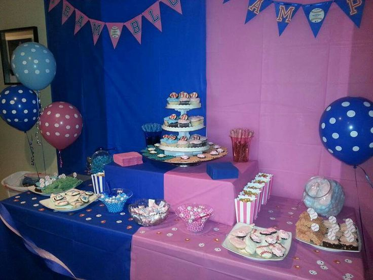 55 Best Images About Dessert Gender Reveal Party On