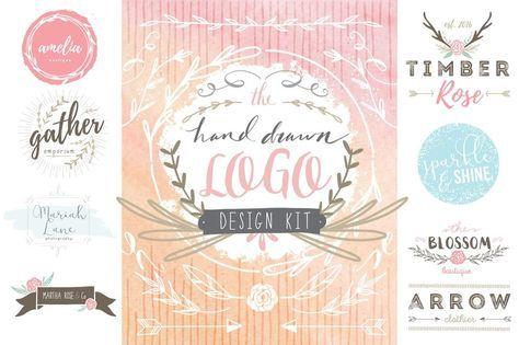 Hand Drawn Logo Design Kit – Avalon Rose Design
