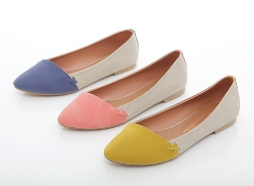 gosh, cute...BN Effortless Stylish Comfy Pointed Toe Ballet Flats