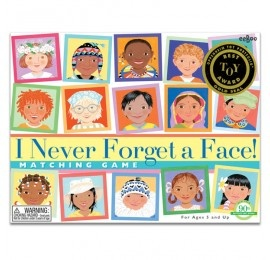 I Never Forget a Face Matching Game - by eeBoo