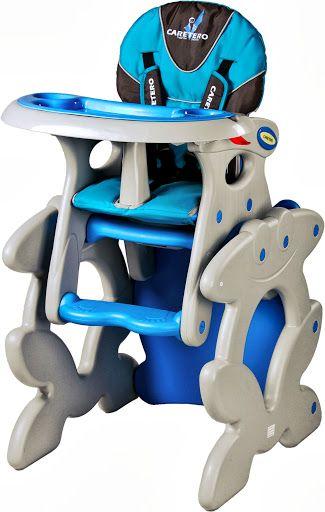 Стульчики для кормления Многофункциональный стульчик-трансформер для кормления Caretero Primus