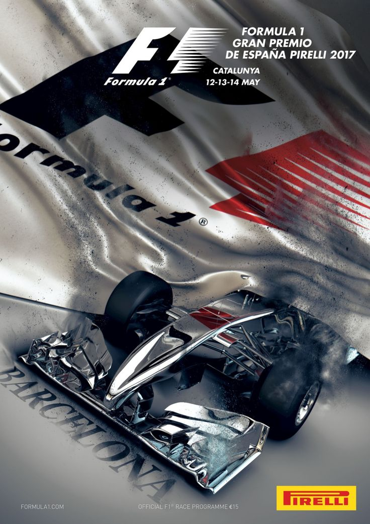Official race programme cover for Spanish Grand Prix - 2017