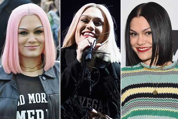 Jessie J's Dramatic Hair Makeover — 3 Shades In OneMonth