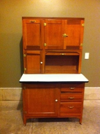 hoosier cabinets on pinterest kitchen hutch cabinets and country