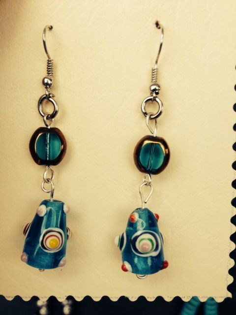 Handmade glass beads... love them!