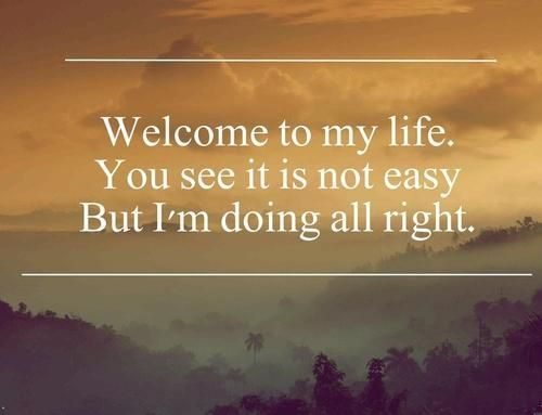 Sunrise Avenue, Welcome to my life ♡