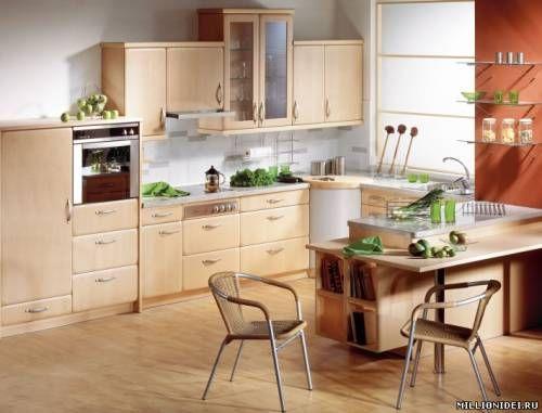 барная стойка на кухне - фото