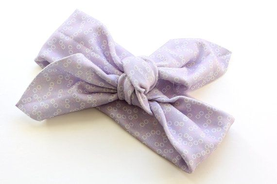 Organic Cotton Headband  Pink Yellow and White Bubbles by raenne, $12.00