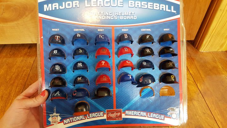 MLB MAJOR LEAGUE BASEBALL Mini Helmets Standings Board New Pick Your Team Choice #StandingBoards