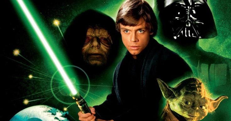 Why Luke's Lightsaber Is Green in Return of the Jedi -- Luke's Jedi abilities have nothing to do with the color of his lightsaber in Return of the Jedi. -- http://movieweb.com/return-of-jedi-star-wars-luke-skywalker-why-green-lightsaber/