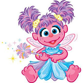 Abby Cadabby - picture for the costume she has requested for next year. Lets see if she remembers