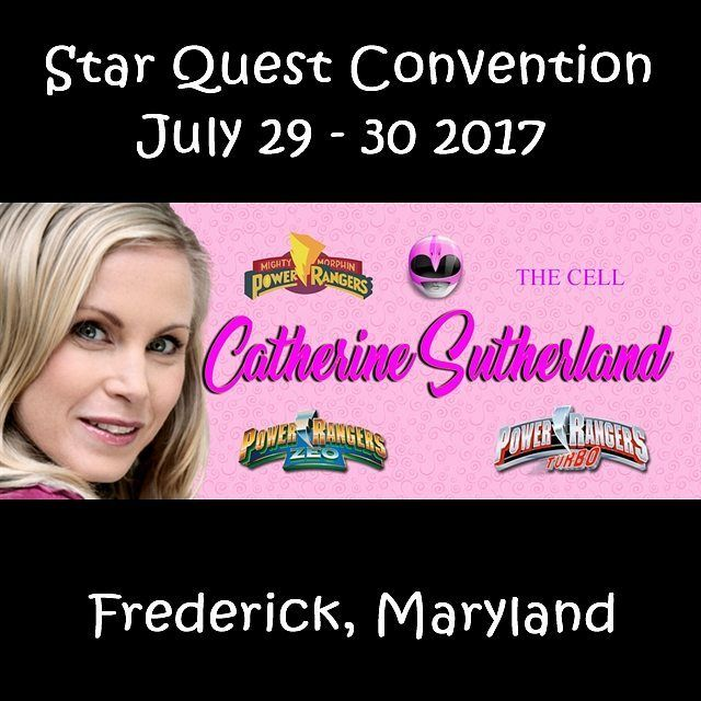 In 2 Months @catherine_sutherland is coming to the Star Quest Convention in Maryland.  Follow @catherine_sutherland  Like her page on Facebook  www.facebook.com/catherinejsutherland  #pink #beatmaticsupports #trentonnjpromoter #powerrangers #mightymorphinpowerrangers #mightymorphin #mightymorphing #mmpr #powerrangerszeo #powerrangersturbo #itsmorphingtime #pinkranger #pinkrangerkat #CatherineSutherland #katherine #actorlife #tvactor #television #theordermovie #convention #femaleempowerment…