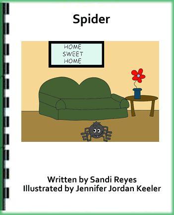Publishers :: KinderReaders :: Spider (Kinderreaders FREE SAMPLE Title) - NEW EDITION