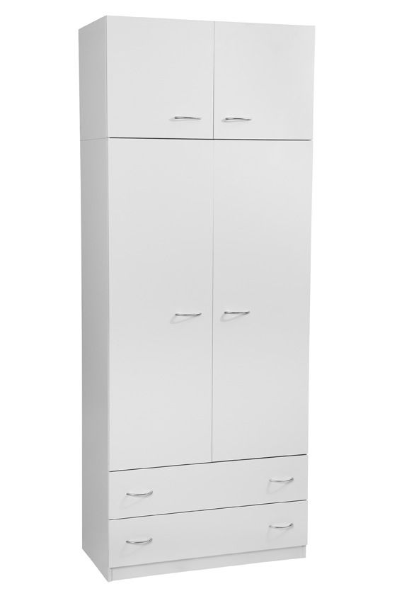 Melamine Robe with 2 Drawers