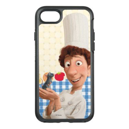 #Ratatouille | Remy and Linguine OtterBox Symmetry iPhone 8/7 Case - #disney #gifts