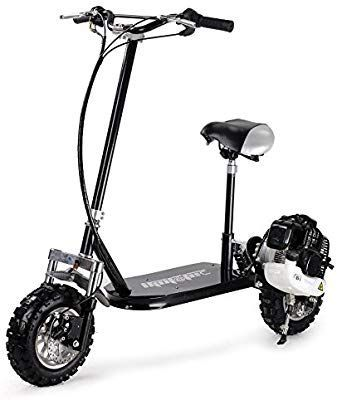 Amazon.com : MotoTec MT-GS3 Black 3 Speed 49cc Gas Scooter