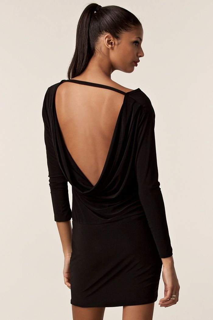 Milly Black Backless Dress 1 220x330 The best backless dresses for any occasion