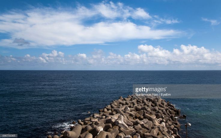 Ulleungdo, Gyungbuk, South Korea (Photo by eyepurifier, Alex SM Han) #Ulleungdo #Gyungbuk #sea #cloud #horizon #landscape #seascape #Koreatravel #gettyimages #sky #koreatour #southkorea #Korea #isl…