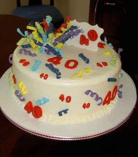 40th Cake Ideas for Men | 40th+birthday+cake+designs+for+men