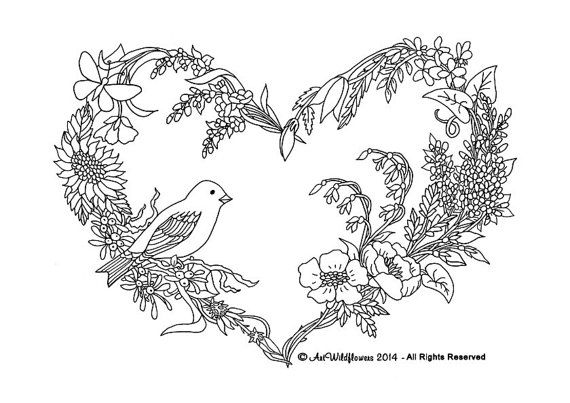 Songbird Coloring Pages