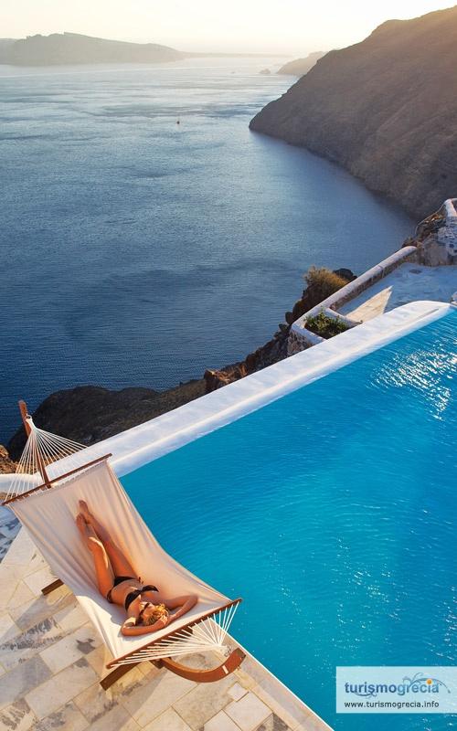 Apaixone-se em #Santorini na #Grecia