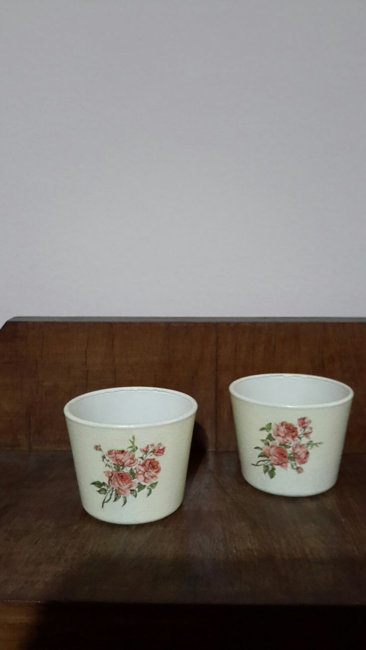 Decoupage , candles