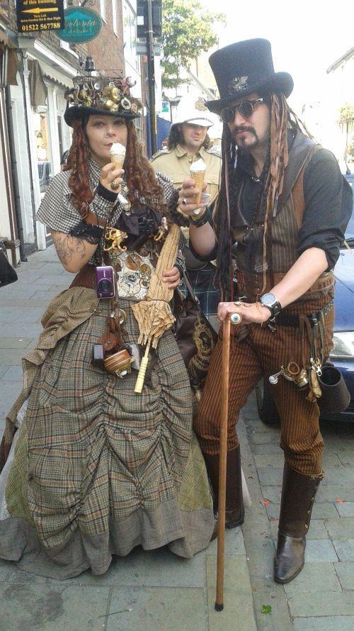 Steampunk Kostüm selber machen   Kostüm Idee zu Karneval, Halloween & Fasching
