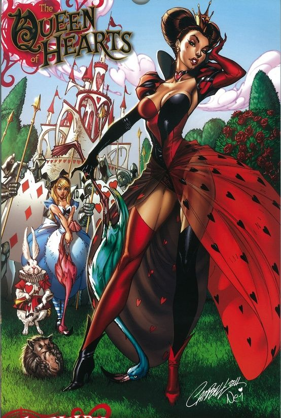 queen of hearts by j scott campbell center stage