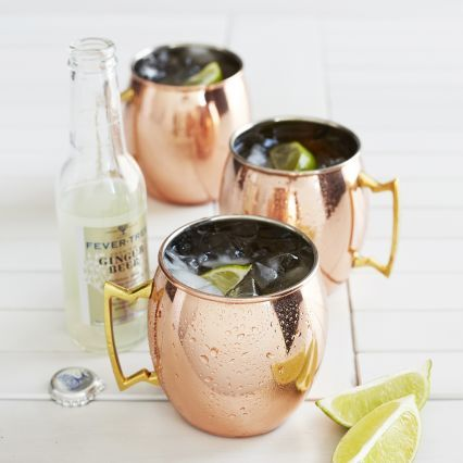 Moscow Mule Copper Mug | Set of 2 or 4