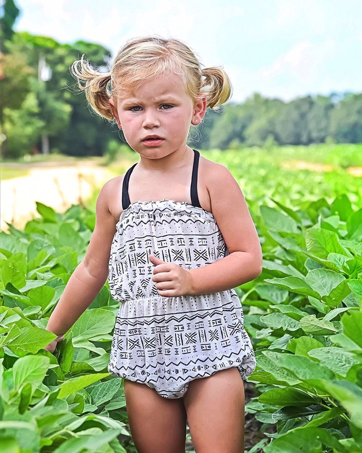 This gorgeous Heiro sun suit is on sale and available for purchase at raghauskids.bigcartel.com! (Photography by Heather Hall) kids fashion | beach romper | summer girls fashion