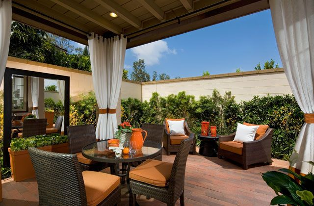 California room marigold at cypress village irvine Living spaces irvine