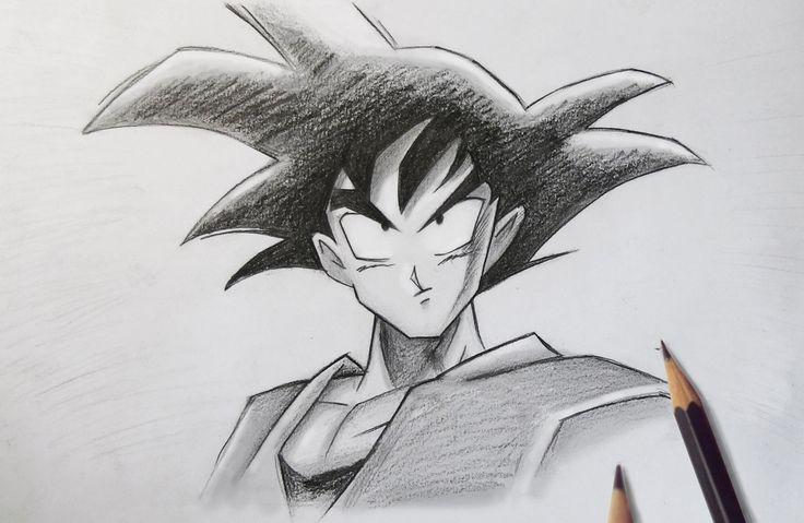Dragon Ball: Goku Drawing by MCorderroure.deviantart.com on @deviantART
