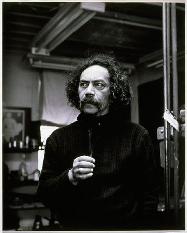 Ralph Hotere - The Artist's Studio, Port Chalmers | 98/106