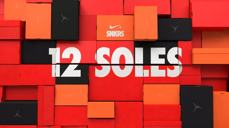 Nike ~ SNKRS ~ 12 Soles on Vimeo animation