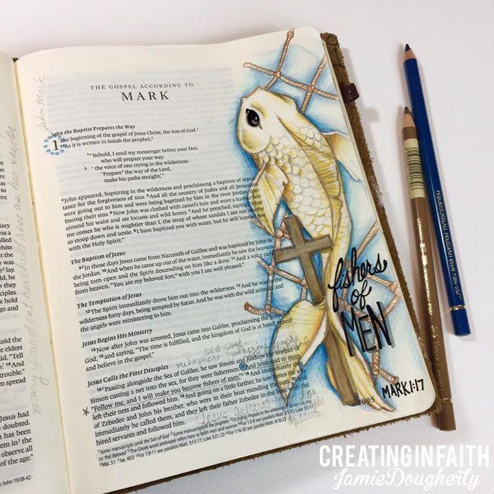 Amazing Bible Journaling by Jamie Severtson Dougherty!!! ♥