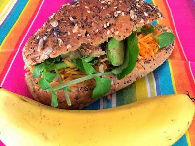 Healthy, nutritional school lunch box ideas by The Healthylunchbox